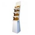 Cardboard Trapeziform Display Stand
