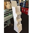 Cardboard Floor Display Stand
